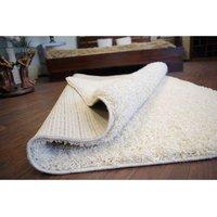 Kusový koberec SHAGGY - krémový