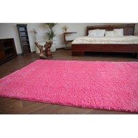 Kusový koberec SHAGGY - ružový