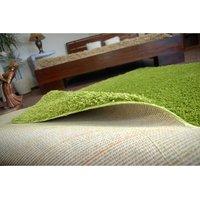 Kusový koberec SHAGGY - zelený
