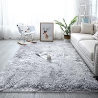 Plyšový koberec STRIEBORNÝ