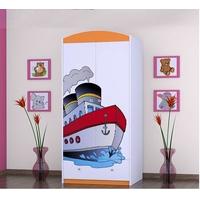 Detská skriňa lodička - TYP 8B