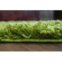 Okrúhly koberec SHAGGY GALAXY - zelený