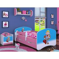 Detská posteľ so zásuvkou 180x90cm BOŘEK STAVITEL