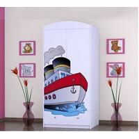 Detská skriňa lodička - TYP 8A