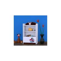 Detský úložný regál lodičky - TYP 8 - NÍZKY