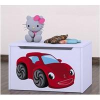 Truhla na hračky RED CAR