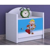 Detský nočný stolík BOŘEK STAVITEL - TYP 3