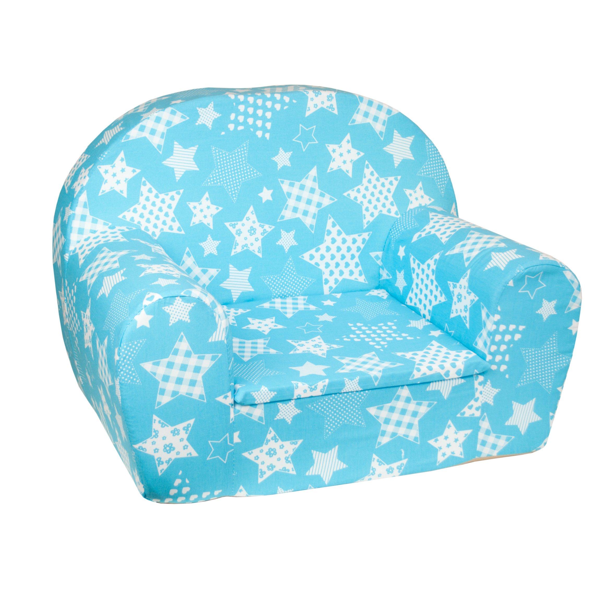 107a56c52c3c Detské kresielko Hviezdičkou modré Rozmery kresielka