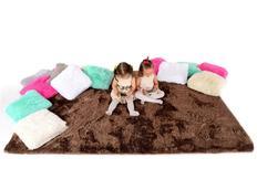 Plyšový detský koberec MOCCA