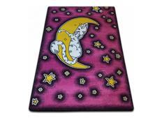 Detský koberec KIDS Nechtík - ružový
