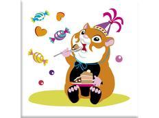 Detský obrázok MAX - myšiak A OSLAVA vzor k21
