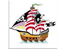Detský obrázok MAX - pirátska loď vzor k9