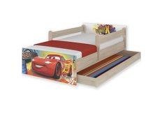 Detská posteľ MAX Disney - AUTA 180x90 cm - so zásuvkou