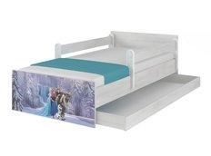 Detská posteľ MAX Disney - FROZEN II 160x80 cm - so zásuvkou
