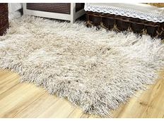 Kusový koberec Shaggy MAX inspiration - ecru