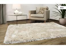 Kusový koberec Shaggy MAX Puffy - ecru