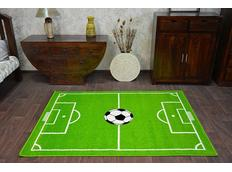 Detský koberec FUNKY TOP HOP futbalový trávnik