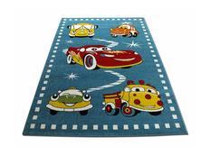 Detský koberec Autíčka - modrý