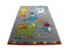 Detský koberec Veselý cirkus - sivý