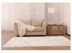 Moderné kusový koberec SHAGGY COLOR - biely