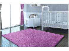 Moderné kusový koberec SHAGGY COLOR - levanduľový
