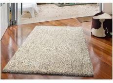 Moderné kusový koberec SHAGGY COLOR - vanilkový
