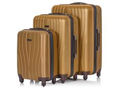 Cestovné kufre GOLDSTAR - zlaté