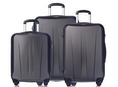 Moderné cestovné kufre PARIS - čierne