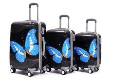 Cestovné kufre BLUE BUTTERFLY
