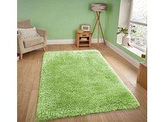 Moderné kusový koberec SHAGGY NOVO - zelený