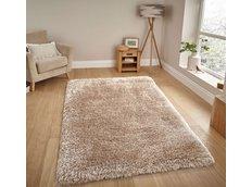 Moderné kusový koberec SHAGGY NOVO - krémový
