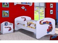 Detská posteľ bez šuplíku 180x90cm MAŠINKA