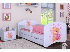 Detská posteľ so zásuvkou 160x80cm MÍŠA