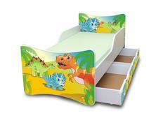 Detská posteľ so zásuvkou - DINO