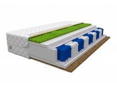 Taštičkový matrac SUPER 200x200x19 cm - HR / kokos