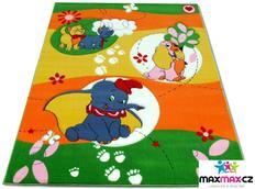 Detský koberec DUMBO green