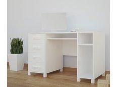 Detský písací stôl BIELY - TYP 2