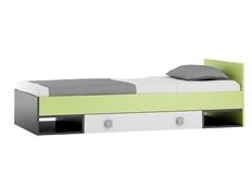 Detská posteľ so zásuvkou - GREEN TYP A 200x90 cm