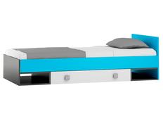 Detská posteľ so zásuvkou - BLUE TYP A 200x90 cm