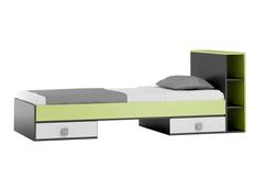 Detská posteľ so zásuvkami - GREEN TYP B 200x90 cm