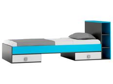 Detská posteľ so zásuvkami - BLUE TYP B 200x90 cm