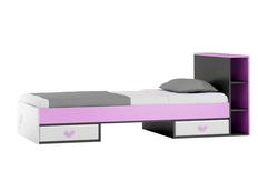 Detská posteľ so zásuvkami - FLOWER TYP B 200x90 cm