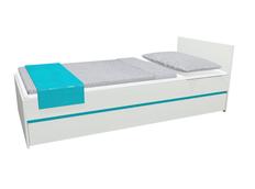 Detská posteľ so zásuvkou - CITY 200x90 cm - tyrkysová