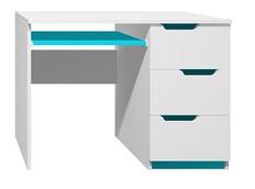 Písací stôl - MODERN TYP A - tyrkysová