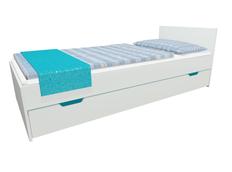 Detská posteľ so zásuvkou - MODERN 200x90 cm - tyrkysová