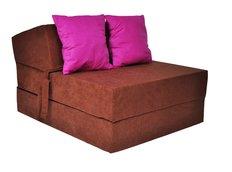 Rozkladacie molitanové kreslo (matrac) - karamelové