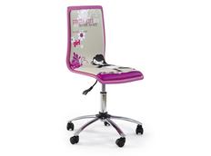 Detská otočná stolička PRETTY GIRL ružová