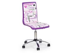 Detská otočná stolička FASHION fialová
