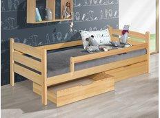 Detská posteľ z masívu 200x90cm so zásuvkou - MARY