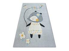 Detský kusový koberec MYŠKA - sivý